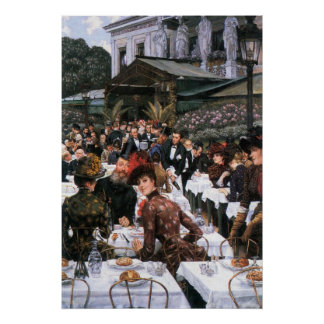 The women of the artist by James Tissot Poster