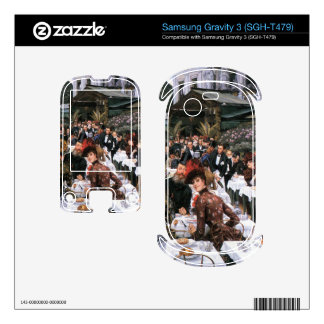 The women of the artist by James Tissot Samsung Gravity 3 Decal