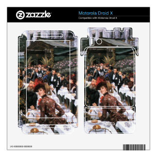 The women of the artist by James Tissot Motorola Droid X Decals
