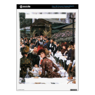 The women of the artist by James Tissot Xbox 360 Skin
