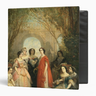 The Women of the Comedie Francaise 3 Ring Binder
