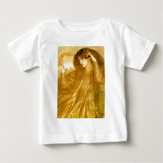 The Women of the Flame by Dante Gabriel Rossetti Baby T-Shirt