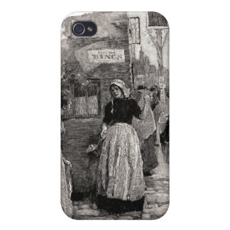 The Women Ran Into The Streets iPhone 4/4S Cover