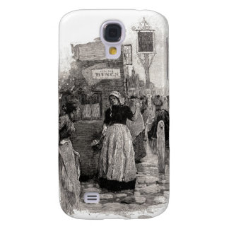 The Women Ran Into The Streets Samsung S4 Case
