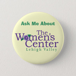 The Women's Center Pinback Button