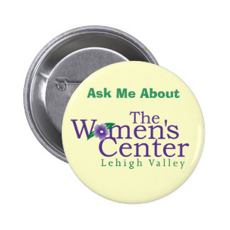 The Women's Center Pinback Button