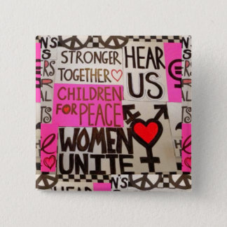 "The Women's March Continues, Pin (2"" square)"