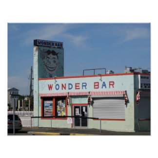 The Wonder Bar / Tillie, Asbury Park, NJ Poster
