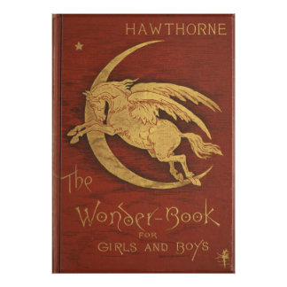 The Wonder Book 1884 Poster