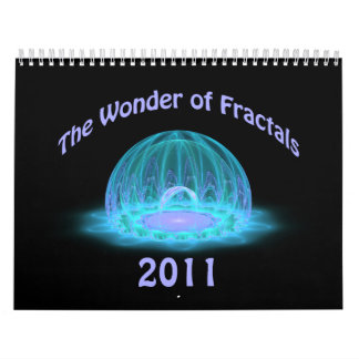 The Wonder of Fractals 2011 Calendar