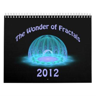 The Wonder of Fractals 2012 Calendar