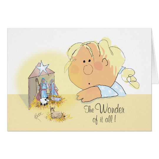 The Wonder of it All! Card