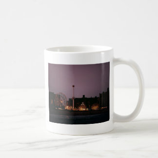 The Wonder Wheel and Cyclone at Night Coffee Mug