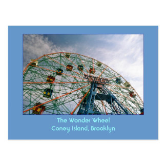 The Wonder Wheel (Coney Island, NY) postcard