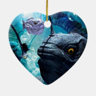 The wonderful frogfish ceramic ornament