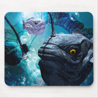 The wonderful frogfish mouse pad
