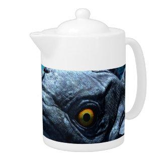 The wonderful frogfish teapot