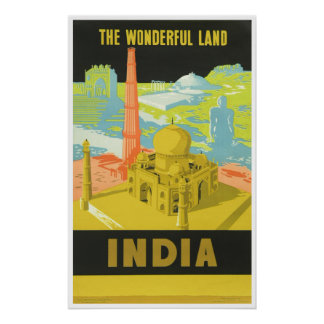 The Wonderful Land: India Poster