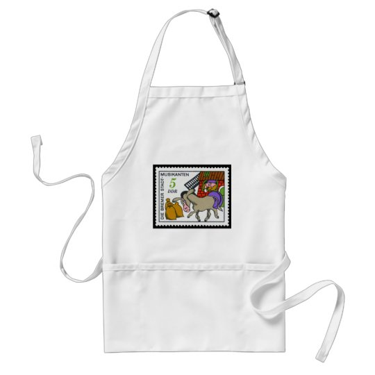 The Wonderful Musician of Bremen 5 DDR 1971 Adult Apron