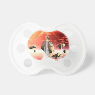 The wonderful sunset pacifier