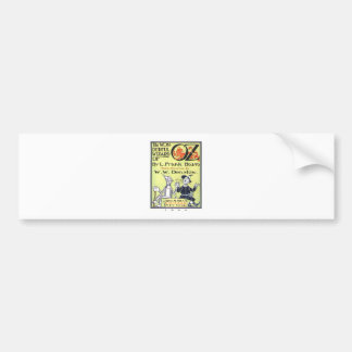 the wonderful wizard of oz bumper sticker