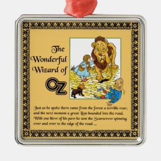 The Wonderful Wizard of Oz Metal Ornament