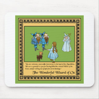 The Wonderful Wizard of Oz Mouse Pad