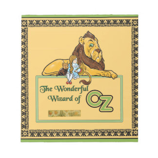 The Wonderful Wizard of Oz Notepad