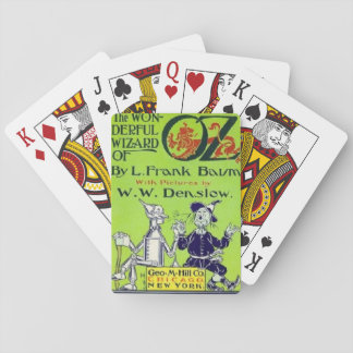 The Wonderful Wizard Of Oz Playing Cards