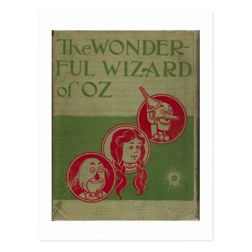 The Wonderful Wizard Of Oz Postcard