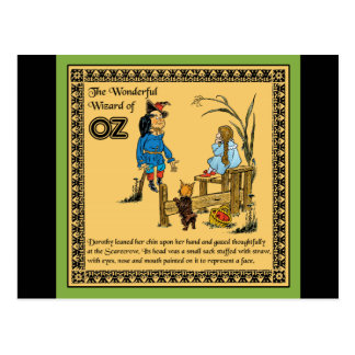 The Wonderful Wizard of Oz Postcard