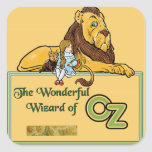 The Wonderful Wizard of Oz Square Sticker