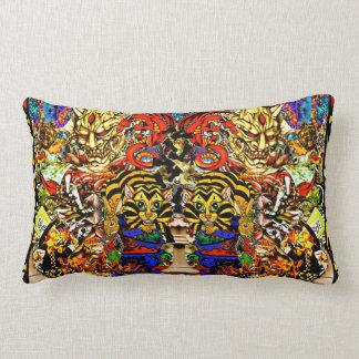 The Wonderland Gang lumbar pillow