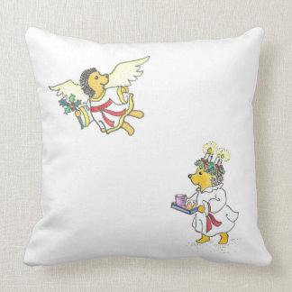 The Wonders of Winter Throw Pillows