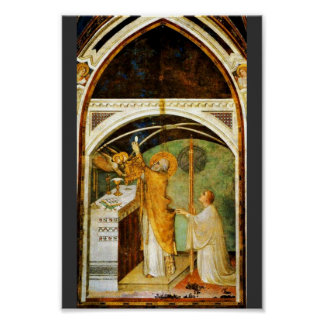The Wondrous Exhibition Of St. Martin By Martini Print