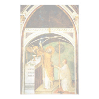 The Wondrous Exhibition Of St. Martin By Martini Personalized Stationery
