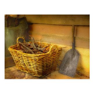 The Wood Basket Postcard