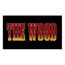 broncos,, the wood,, brookwood,, football,, basketball, Business Card with custom graphic design