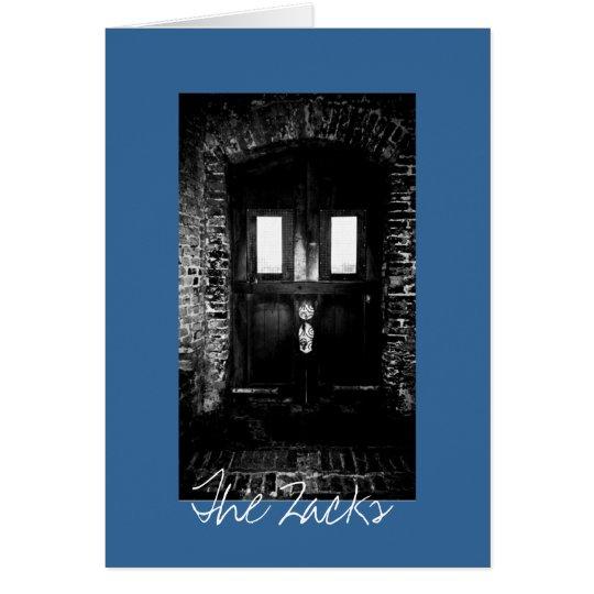 The Wood Door Card
