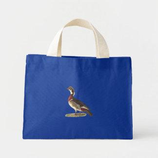 The Wood Duck(Anas sponsa) Mini Tote Bag