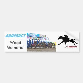 The Wood Memorial 2017 Bumper Sticker
