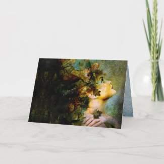 the wood nymph card