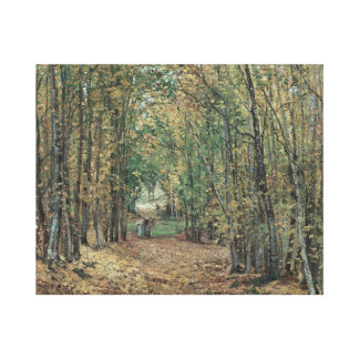 The wood of Marly  by Camile Pissaro  canvas print