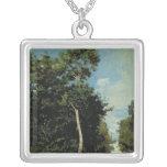 The Wood on the Cote de Grace in Honfleur Custom Necklace