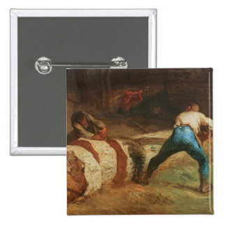 The Wood Sawyers, 1848 Pinback Buttons
