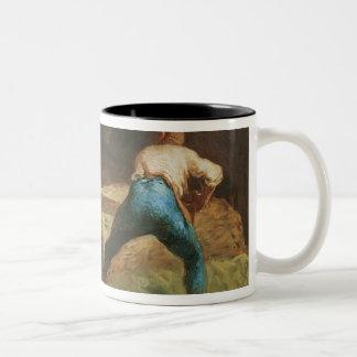 The Wood Sawyers, 1848 Two-Tone Coffee Mug
