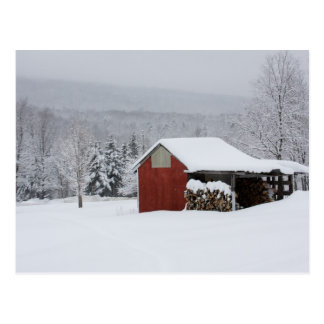 The wood shed postcard