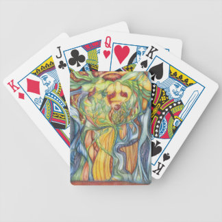 the wood spirits bicycle playing cards