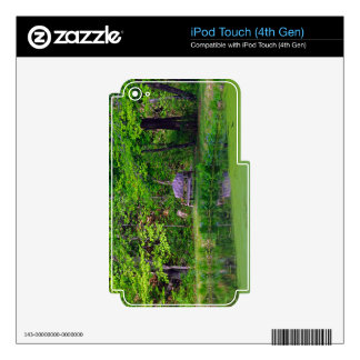 The Wooden Bench Skin For iPod Touch 4G