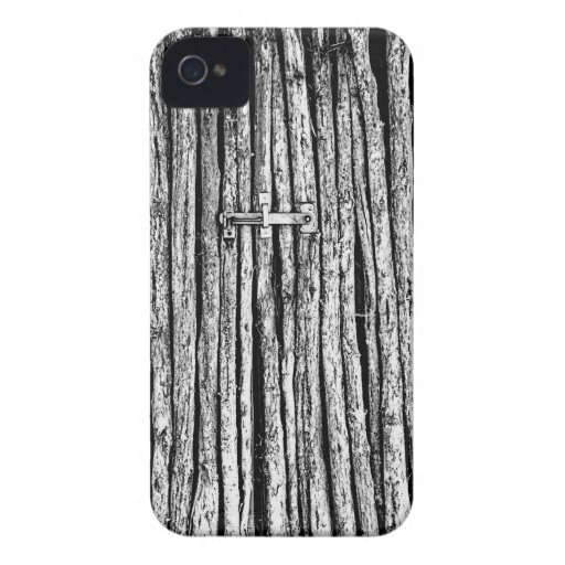 The wooden gate iPhone 4 cases